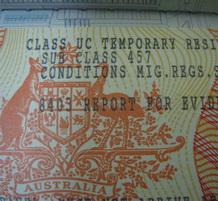 документы на визу в Австралию